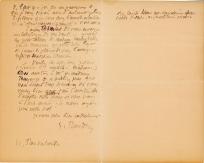 Lettre de Eugène Boudin à Pieter van der Velde, 5 avril 1888