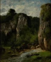 Paysage à Ornans