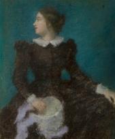 La Modiste ou Jeune Femme au chapeau