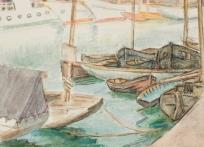 Bassin du port du Havre, Vue du Havre (ancien titre)