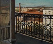 Balcon. Avenue de Versailles