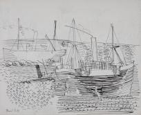 Cargos au Havre