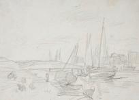 Barques dans un port