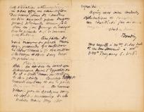 Lettre de Eugène Boudin à Pieter van der Velde, 22 novembre 1889