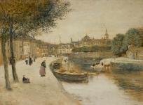 Canal à Quimperlé