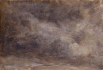 Ciel gris brun