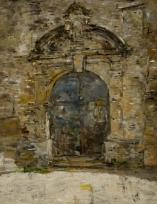 Portail de l'église Saint-Pierre, à Touques