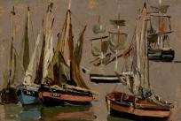 Barques de pêche et voiliers