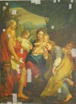 Mariage mystique de Sainte Catherine (copie d'après Le Corrège)