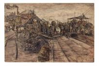 Le Déchargement d'un charbonnier