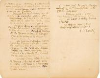 Lettre de Eugène Boudin à Pieter van der Velde, 12 novembre 1890
