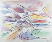 """""""Propulsion I"""", renommé ultérieurement par l'artiste """"Espace"""""""