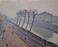 Quai de la Seine à Paris