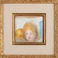 Tête d'enfant et pomme, Tête de fille et pomme (titre dans l'acte d'acquisition)