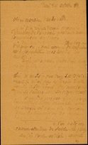 Lettre de Eugène Boudin à Pieter van der Velde, 24 octobre 1889