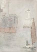 Entrée du port du Havre, Vue du Havre (ancien titre)