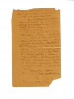 Lettre de Eugène Boudin à Pieter van der Velde, 15 mars 1889