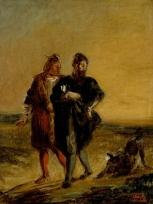 Faust et Wagner avec le barbet, Faust et Méphistophelès avec le barbet, Hamlet et Horatio