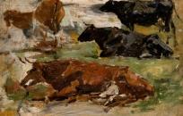 Vaches (recto du B 89 bis)