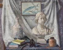 Nature morte : buste de jeune fille, livres et pots, Nature morte (registre d'inventaire 1871-1957), Nature morte (buste de jeune fille, livres et pots) (catalogue Arnould 1952)