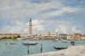 La Place Saint-Marc à Venise vue du Grand Canal