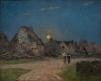 Lever de lune en Bretagne