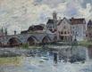 Le Pont de Moret ; effet d'orage