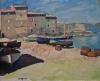 Le Port de la Ponche, Saint-Tropez, Port de Saint-Tropez ; Barques de pêche à Collioure, Barques de pêche à Collioure