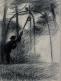 """Personnage tirant de l'eau à un puits (étude pour """"Jardin en Provence"""")"""