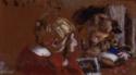 Enfants lisant, Enfants lisant, Jacques et Annette Roussel