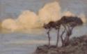 Varengeville, gros effet de nuages, bord de mer