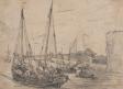 Bateaux dans le port du Havre