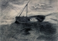 Barque échouée