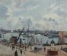 L'Anse des Pilotes, Le Havre, matin, soleil, marée montante