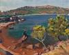 Vue d'Agay, les rochers rouges, Paysage du midi, Agay