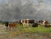 Vaches au bord de la rivière