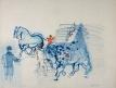 Les Percherons bleus