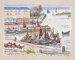 Entrée du port de Honfleur