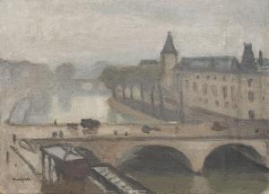 Pont Saint-Michel à Paris