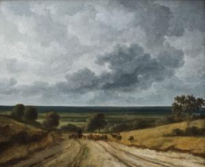 Route en pleine campagne