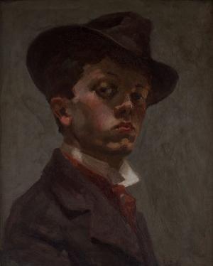Autoportrait au chapeau mou