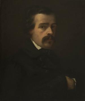 Portrait de M. Heuzey (Jules-Philippe Heuzey ?)