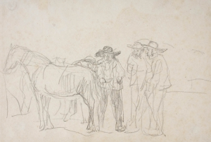 Le Marché aux chevaux