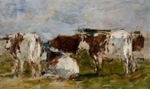 Groupe de vaches