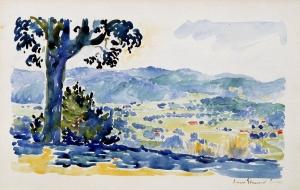 Plaine provençale, Paysage de Provence