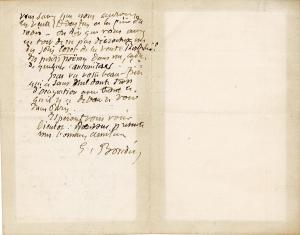 Lettre de Eugène Boudin à Pieter van der Velde, 22 mai 1889