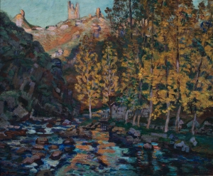 La Creuse à Crozant, Moulin sur la Creuse