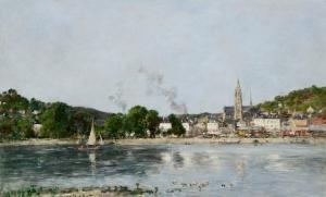 Vue de Caudebec-en-Caux