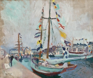 Le Yacht pavoisé au Havre