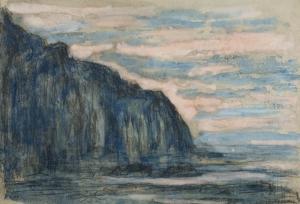 Mer et falaise à Varengeville